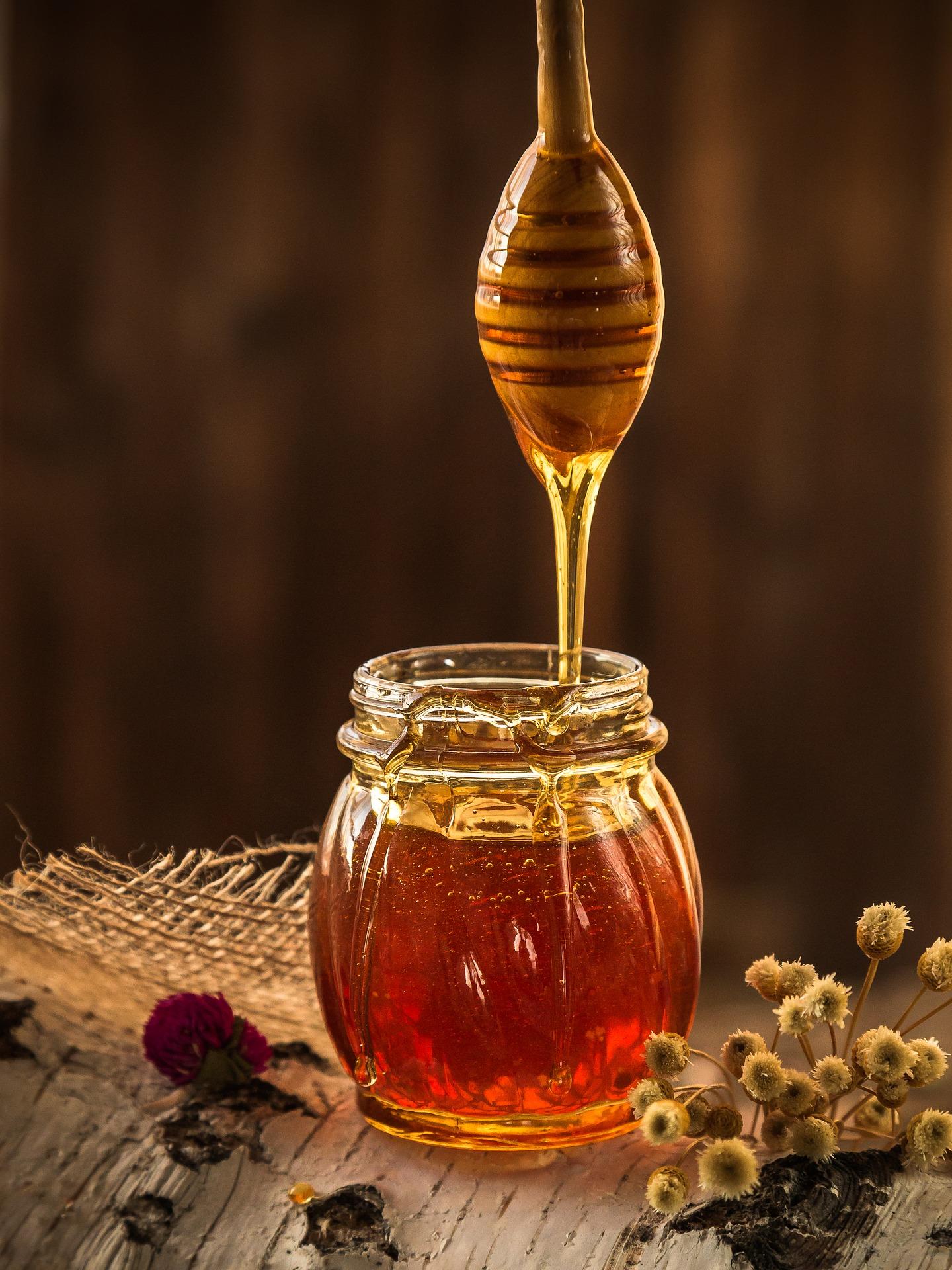 Natürliches Süßungsmittel Honig